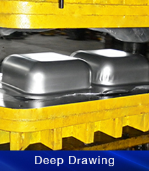 Deep Drawn Stainless Steel